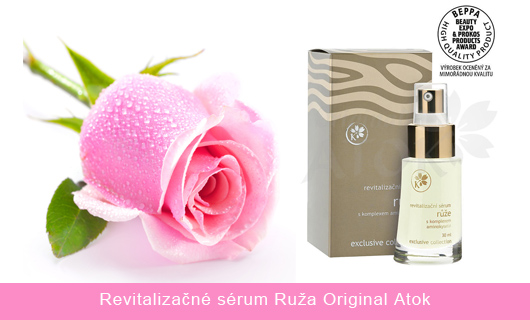 revitalizacne serum ruza